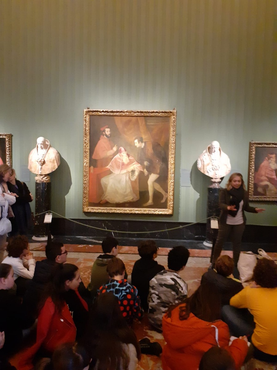 Educare al bello ... visita al Museo di Capodim...