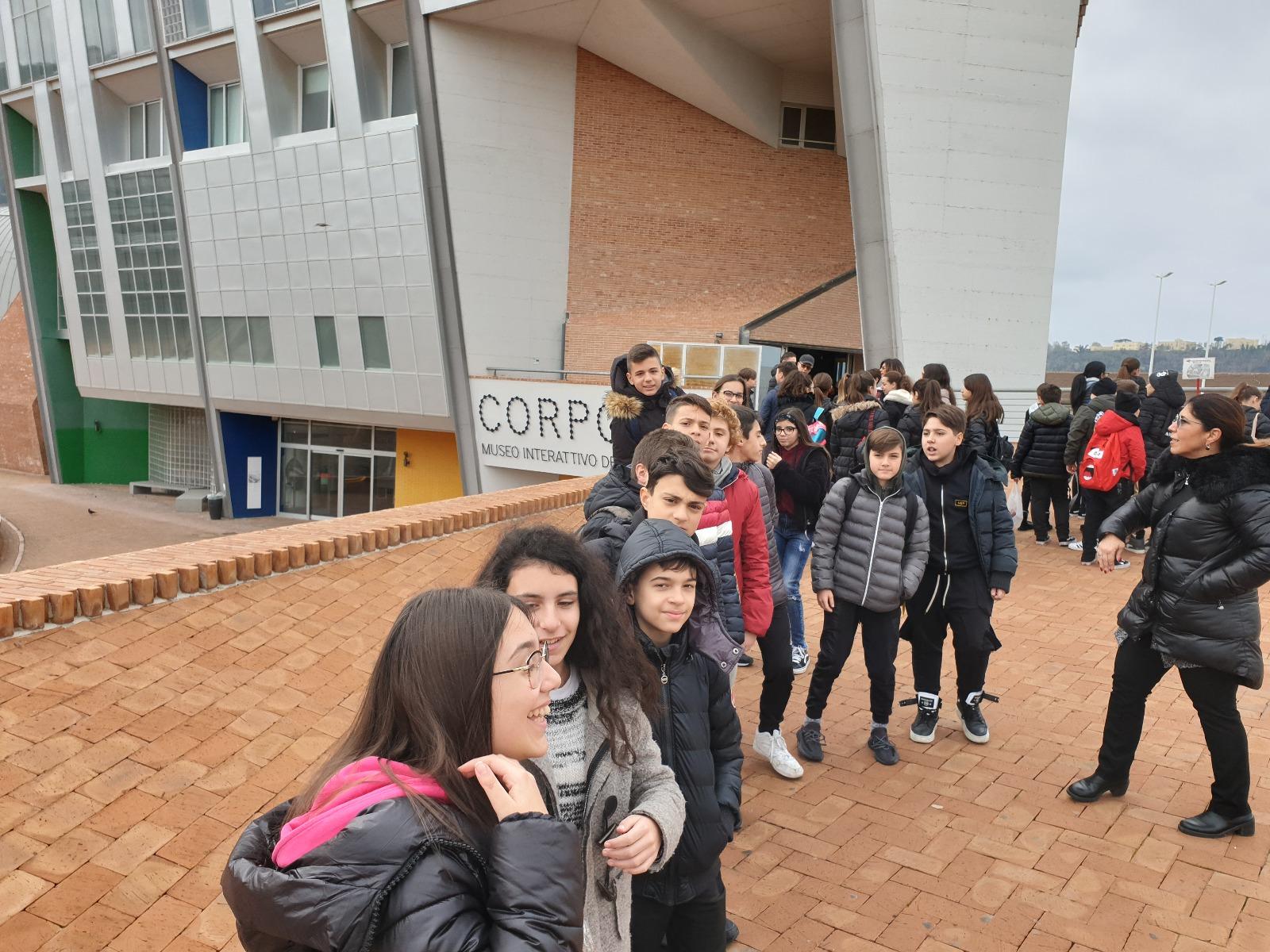 Visita alla mostra Corporea presso Città della Scienza