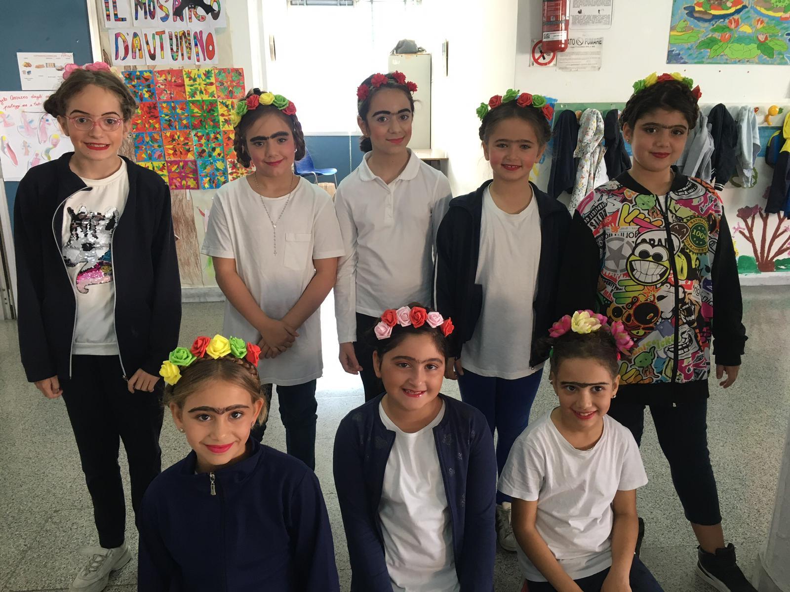 Fida Kahlo e il giorno dei morti. Classe 4^B Zanfagna