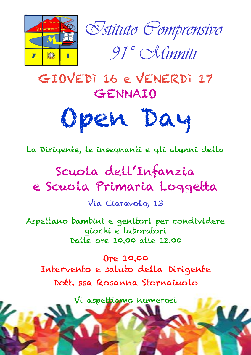 open day Loggetta